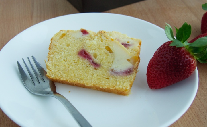... Baked cheese and sweetness of the Strawberry just adds extra flavour